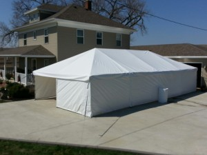 Paint Booth Rental >> Frame Tents | Genesis Enterprises