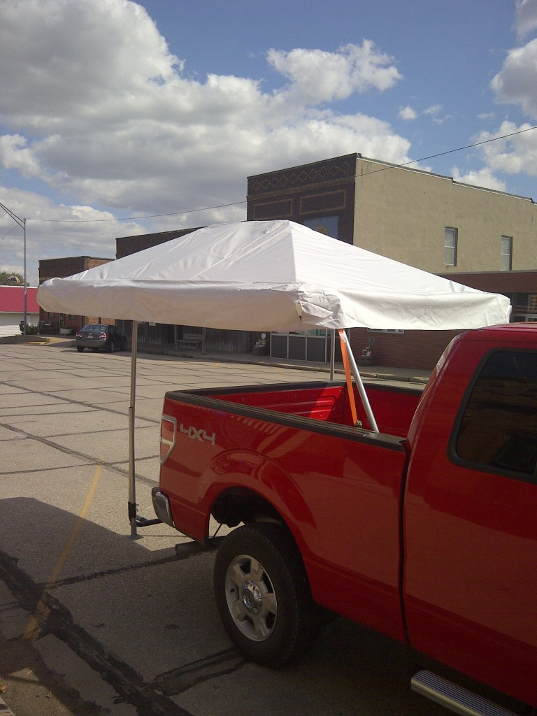 No Stakes or Anchors Required Vehicle Can Be Moved With Canopy Attached : tailgating canopy - memphite.com